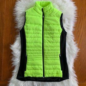 Neon Puffer Vest